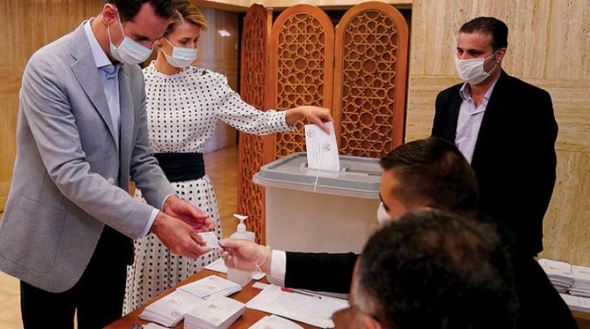 voters taking his votes